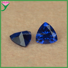 cheap wholesale fashion trillion cut loose shinning synthetic spinel 113# blue spinel for sale