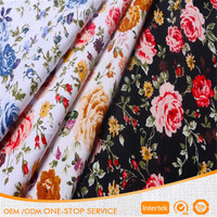 100% Cotton 32x32 133x72 poplin print fabric