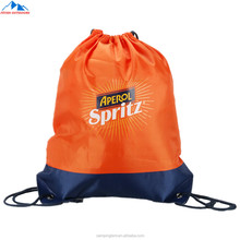 Customized Promotional Polyester Outdoor Drawstring Bag