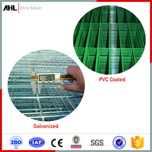 Supplier PVC Coated 2x2 Galvanized Stainless Steel Welded Wire Mesh Panel Security Fence Barriers for Garden Road