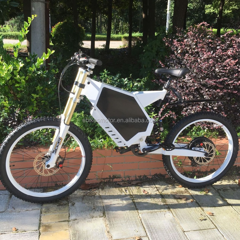 2016 enduro high speed full suspension 5kw 5000w stealth bomber electric bike