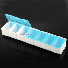 new products plastic storage box Medicine / Jewelry Organizer / Electronic Parts 7 Grids Plastic Removable Storage Box