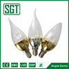 SMD2835 Plastic And Aluminium Candle Chandelier