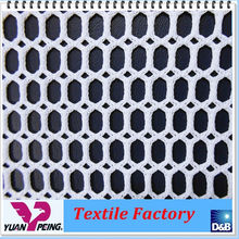 Hexagon Polyester Elastic Mesh Fabric