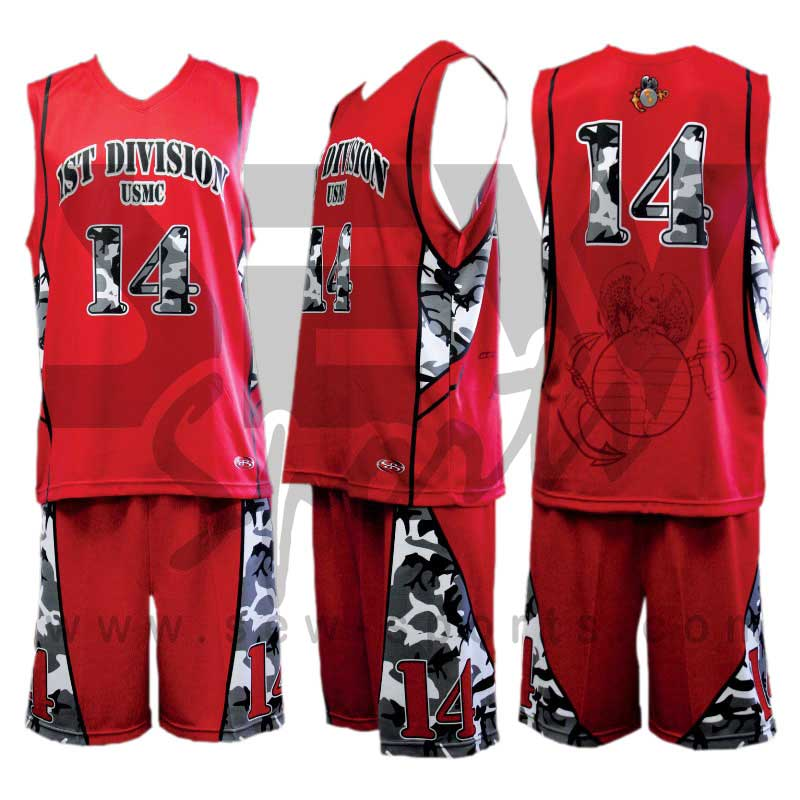 New Great Sublimation Basketball Uniform