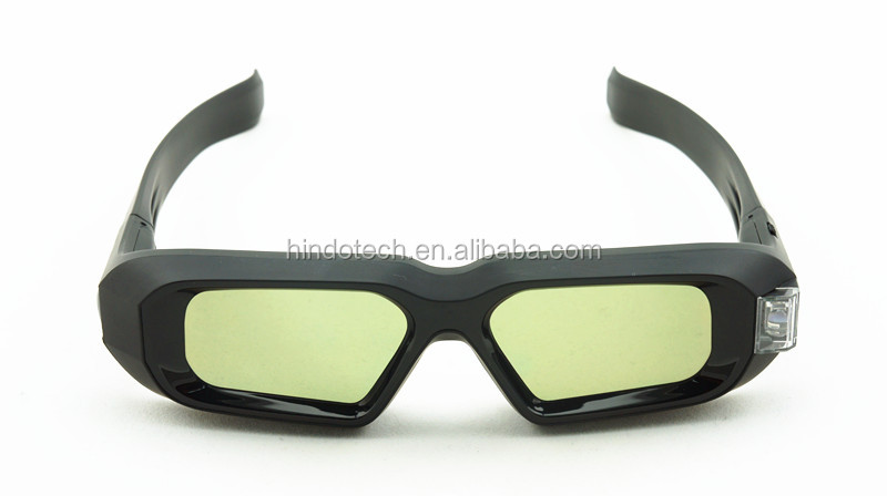 3D Active Shutter Glasses DLP-LINK DLP LINK 3D dlp glasses for Optoma LG Acer BenQ w1070 Projectors
