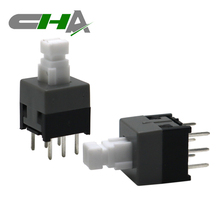 Self-lock/Non-lock Tact Tactile switches Micro push botton switch 30V 0.1A 6 PIN Latching Type