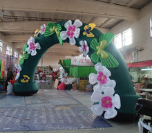 inflatable wedding decoration gate flower arch