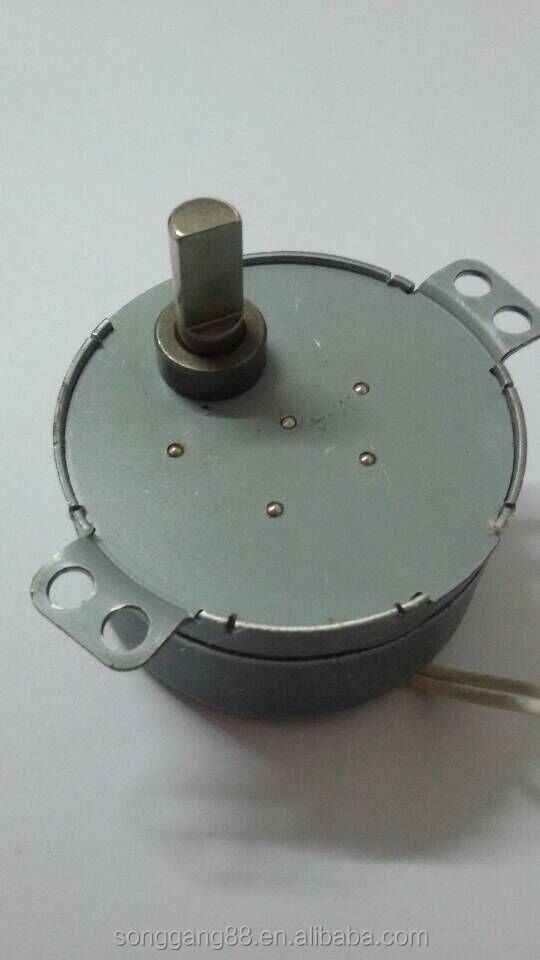 24volt 0.8-1rpm AC Synchronous <strong>Motor</strong> for Revolving Light
