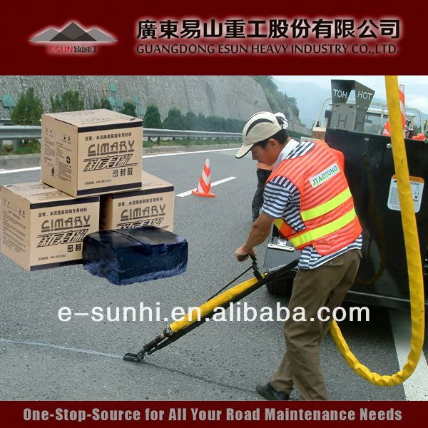TE-I rubberized bitumen pavement sealer