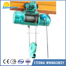 Traveling mobile wire rope Electric hoist for sale