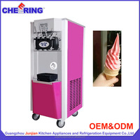 Commercial Colorful Ice Cream Machine