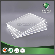 KINGSCOPE 1mm pmma acrylic sheets 100% pmma raw material same mate rial as pmma raw material