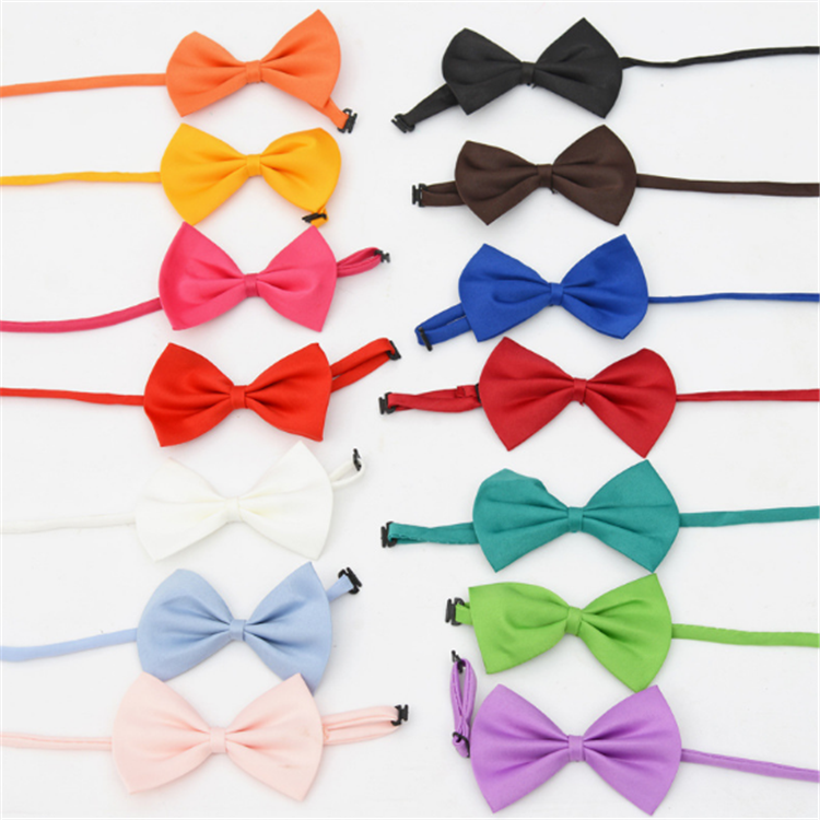 Hot Sale Fashion Multicolor Pet Dog Cat Coat Tie Dog Collar bow Tie