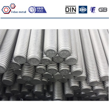 DIN835 duoble and stud / stud bolts with hex nut / L J Type anchor bolt with nut and washer
