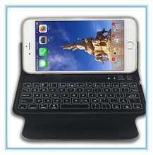 Guangdong PU ABS Flexible bluetooth wireless bilingual keyboard,4.7inch keyboard