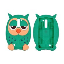 Fashion Style 3D New Cute Owl Anti Impact Proof Silicone Rubber Soft Fitted Back Case Cover Owl Phone Case Cover for Iphone6/7/8