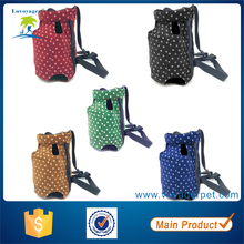 Lovoyager Cotton Dot Design Chest Front Pack Dog Carrier