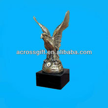 custom resin eagle statue