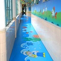 kids nursary customer made PVC flooring