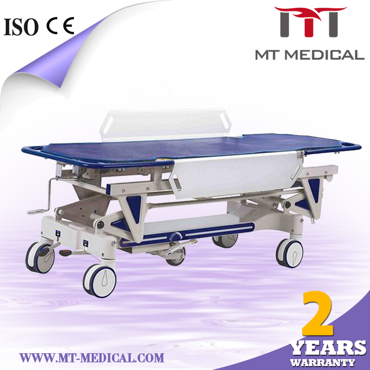 Hospital emergency trolleys equipment medical rolling carts patient transport stretcher