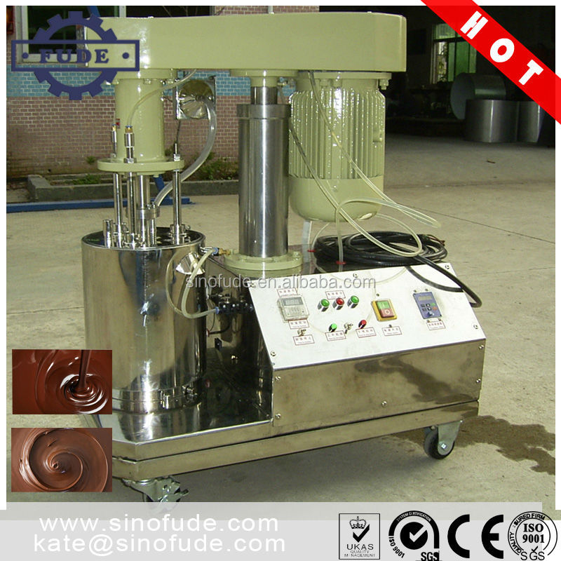 high quality lab chocolate grinder machine / small chocolate conche / ball mill machine
