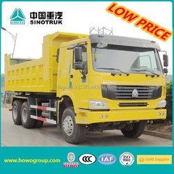 Sinotruk 6x4 howo dump truck specification