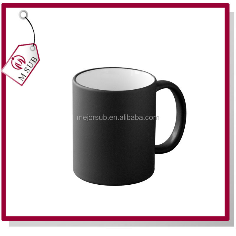 11oz sublimation mug changing color in high temperature