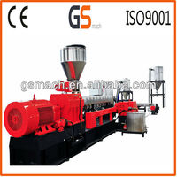 Two stage single screw extruder/waste plastic recycling granulator/plastic grnaules making machine