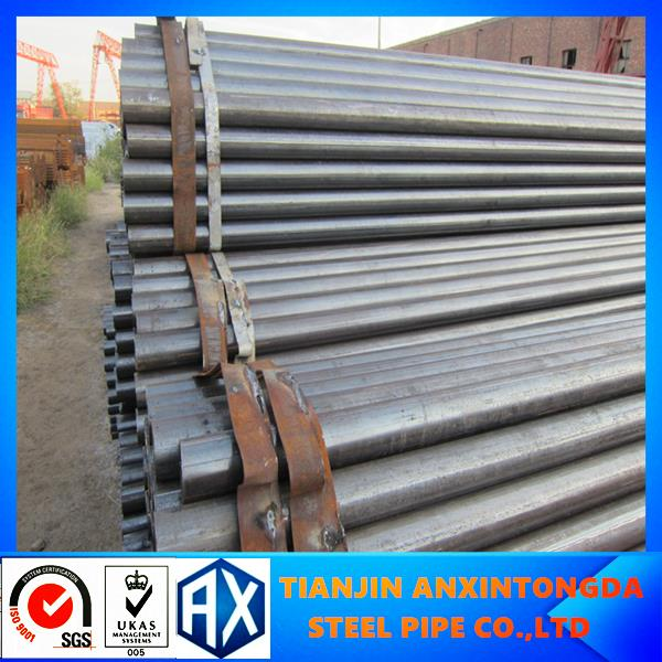 octagon steel tube!x42 x46 x60 x80 erw steel pipe!MS tube,pipes