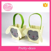 New premium best selling felt basket best promotion gift 2015