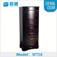 Classical home wood mirrore,furniture living room, new storage cabinet