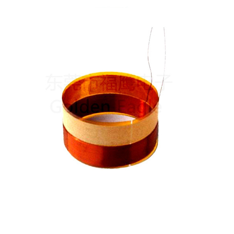 2018 High quality asv kapton voice coil speaker parts with ROHS Golden Eagle333