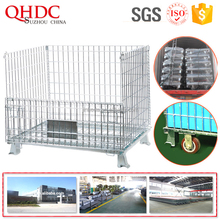 lockable roll container wire storage cage