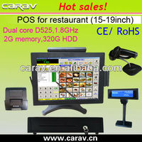 POS Touchscreen all in one pc pos with Windows XP or windows 7 Pro Installed