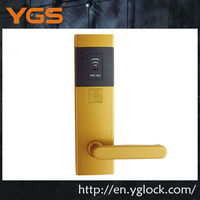 Electronic hotel key card lock for smart card lock system