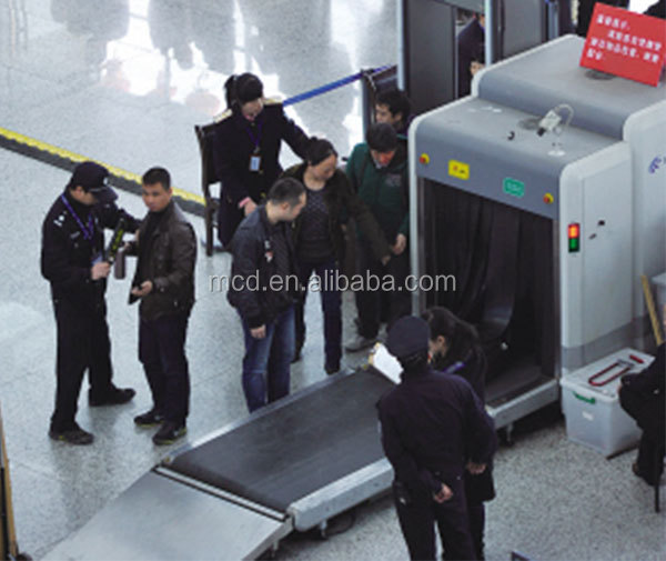 Airport X-ray baggage scanner,large cargo x-ray scanner MCD-10080