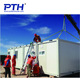 Flat pack movable prefabricated modular living container house for construction site office/accommodation/labor camp
