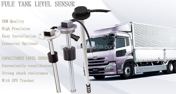 GLTV5 4-20mA 0-5V fuel liquid float Level Sensor