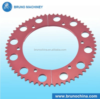 Offroad motorcycle rear aluminum alloy sprocket