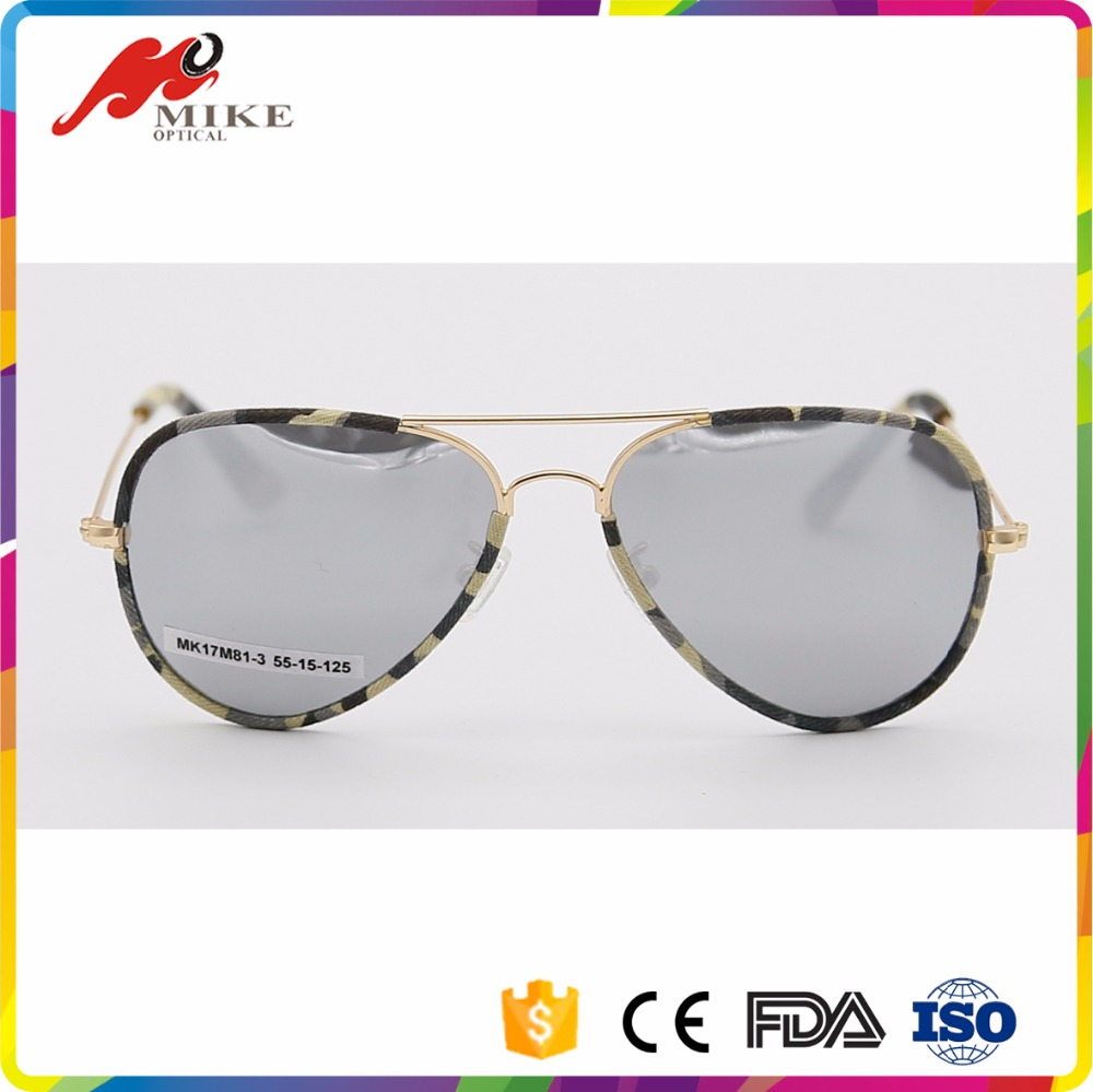 Kid Sunglasses Camouflage Frame Fashion Children Mirror Eyewear