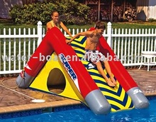 inflatable water slide, inflatable water game, inflatable aqua park