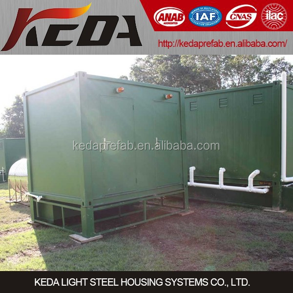 10ft Portable Container Toilet & Ablution & Lavatory & Shower Room