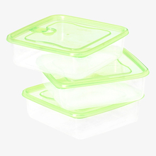 Durable Plastic Air-Tight Food Storage Container Set