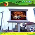 Outdoor P10 fixed install rear service advertising led display screen prices