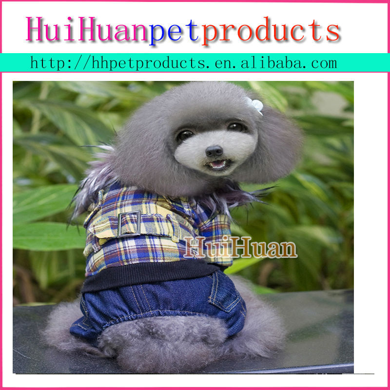 Customized pet jumpsuit Winter Fleece Dog Clothes, Dog Jumpsuit
