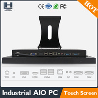 Factory direct cheap LED computer 15 inch all in one computer pc with IR touch screen