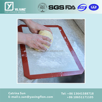 2016 New design best sale product FDA silpat custom wholesale silicone oven mat with cheap price