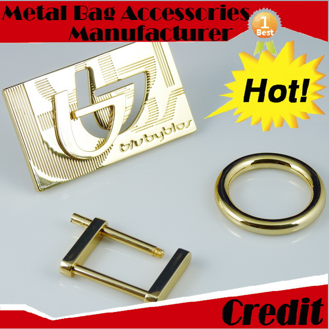 EL1050 one-stop service buckles clasp in matte finish pearl gold color