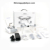 2018 hot sale selfie rc quadcopter mode and wifi fpv HD camera mini racing drone